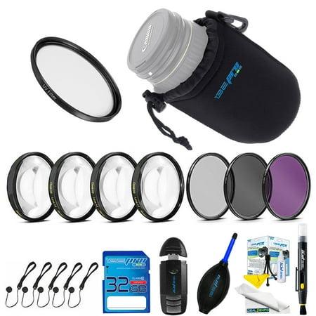 Expo Lens Kit for Samsung NX 50-200mm f/4.0-5.6 OIS Zoom Camera Lens (White)