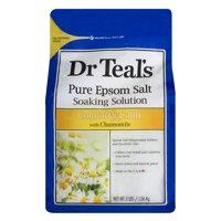 Dr Teal's Epsom Salt Soaking Solution, Chamomile, 3 lbs.