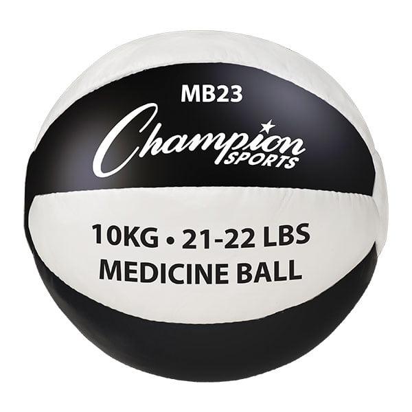21-22lb Leather Medicine Ball