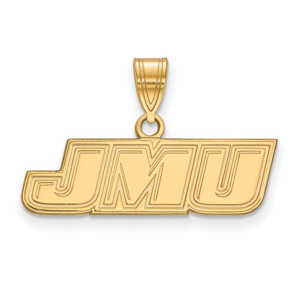 James Madison Small (1/2 Inch) Pendant (14k Yellow Gold)