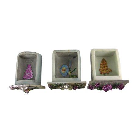3 Drawer Dream Flower Fairy Trinket / Jewelry Box - image 2 of 4