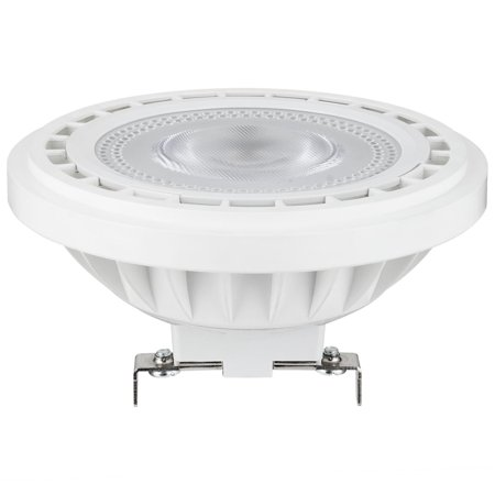 SUNLITE AR111 LED 7W 12V G53 Base Narrow Flood 3000K Spotlight Bulb 500w Par 64 Narrow Spot