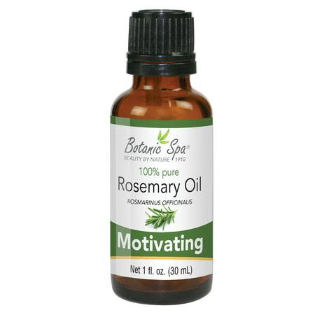 Botanic Spa 100% Pure Essential Oil Motivating , Rosemary, 1 Fl Oz