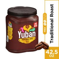 Yuban Traditional Medium Roast Ground Coffee, Caffeinated, 42.5 oz Jug