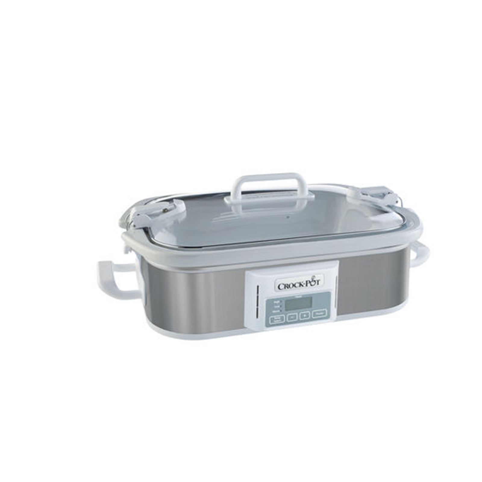 CrockPot 3.5 Quart Programmable Casserole Crock Slow Cooker