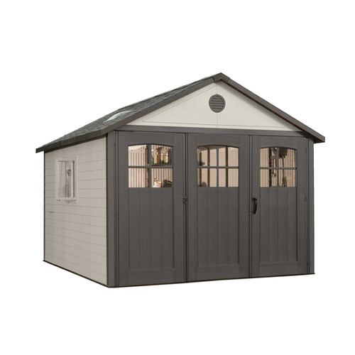 Lifetime 11' x 11' Outdoor Shed (Tri-doors), 6417