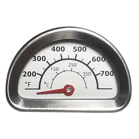 Charbroil & Kenmore Heat Indicator, Stainless Steel - 1-3/16