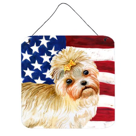Morkie Patriotic Wall or Door Hanging Prints - image 1 de 1