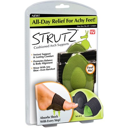 Strutz Cushioned Arch Supports- Set of 2