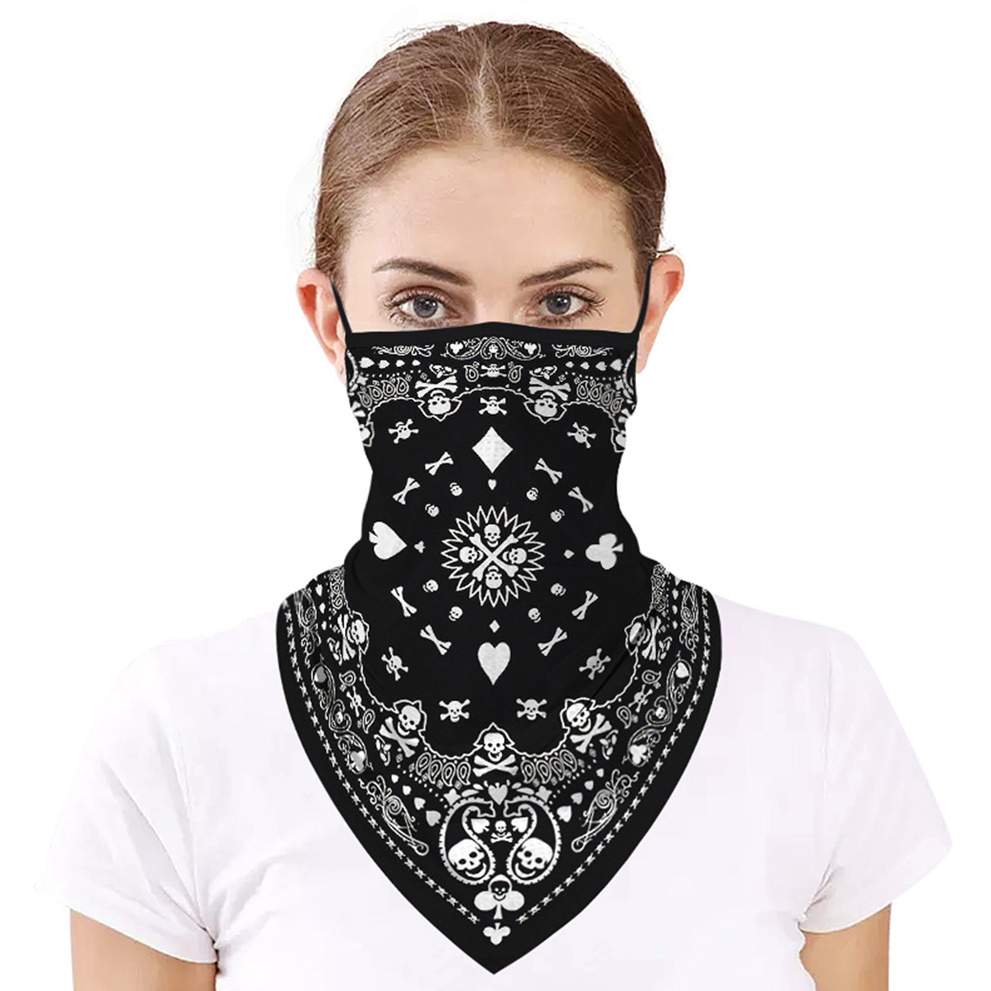 Motorcycle Face Mask Neck Cover Balaclava Cycling Bike Masks Ski Outdoor Bandana