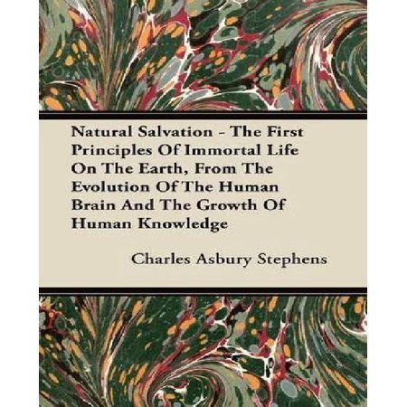 Natural Salvation - The First Principles of Immortal Life on the Earth, from the Evolution of the Human Brain and the Growth of Human Knowledge - image 1 of 1
