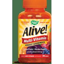 Multivitamins: Alive! Multi-Vitamin Adult Gummies