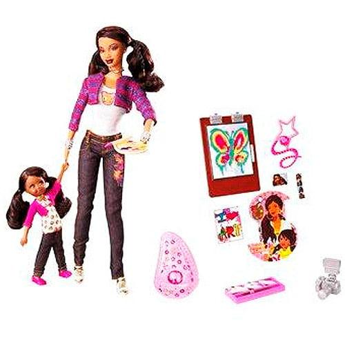 Barbie  -  Mattel Barbie So In Style Trichelle Doll
