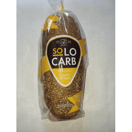 SoLo Carb Bread Country White 3 Pack