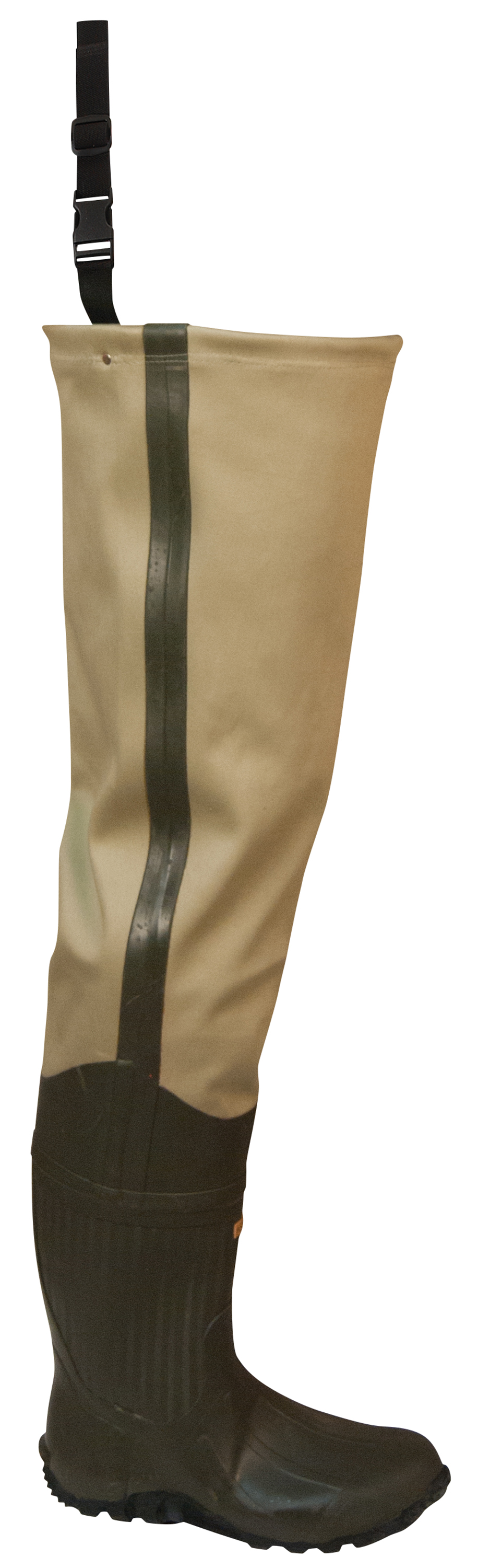 Frogg Toggs Bull Frogg 3-ply Canvas Hip Wader Felt by Frogg Toggs