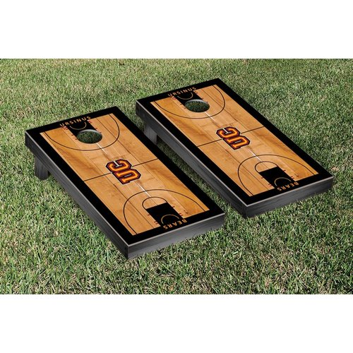 Victory Tailgate NCAA Ursinus College Bears Basketball Court Version Cornhole Games Set