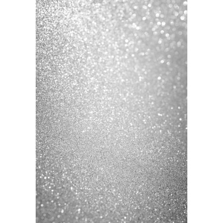 GreenDecor Polyster 5x7ft Shining Bokeh Photography Backdrops Silver Glitter Background for Photo Studio Party Stage Photoshooting](Teal Glitter Background)