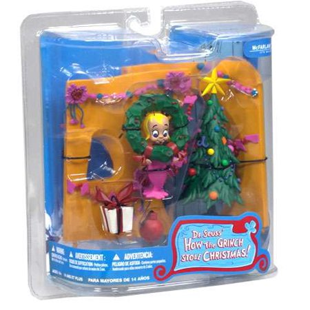 McFarlane Dr. Seuss How the Grinch Stole Christmas! Cindy Lou Who Action Figure - Cindy Lou Who Outfit