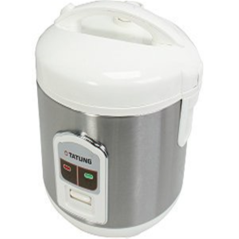 Tatung 8 Cup Direct Heat Rice Cooker TRC-8BD1, with Stain...