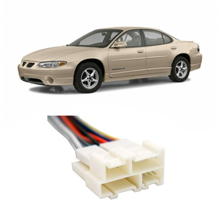 Pontiac Grand Prix 1988-2003 Factory Stereo to Aftermarket Radio Install on
