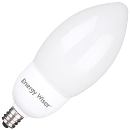 Bulbrite 513009 - CF7/B11/CTF Torpedo Screw Base Compact Fluorescent Light Bulb
