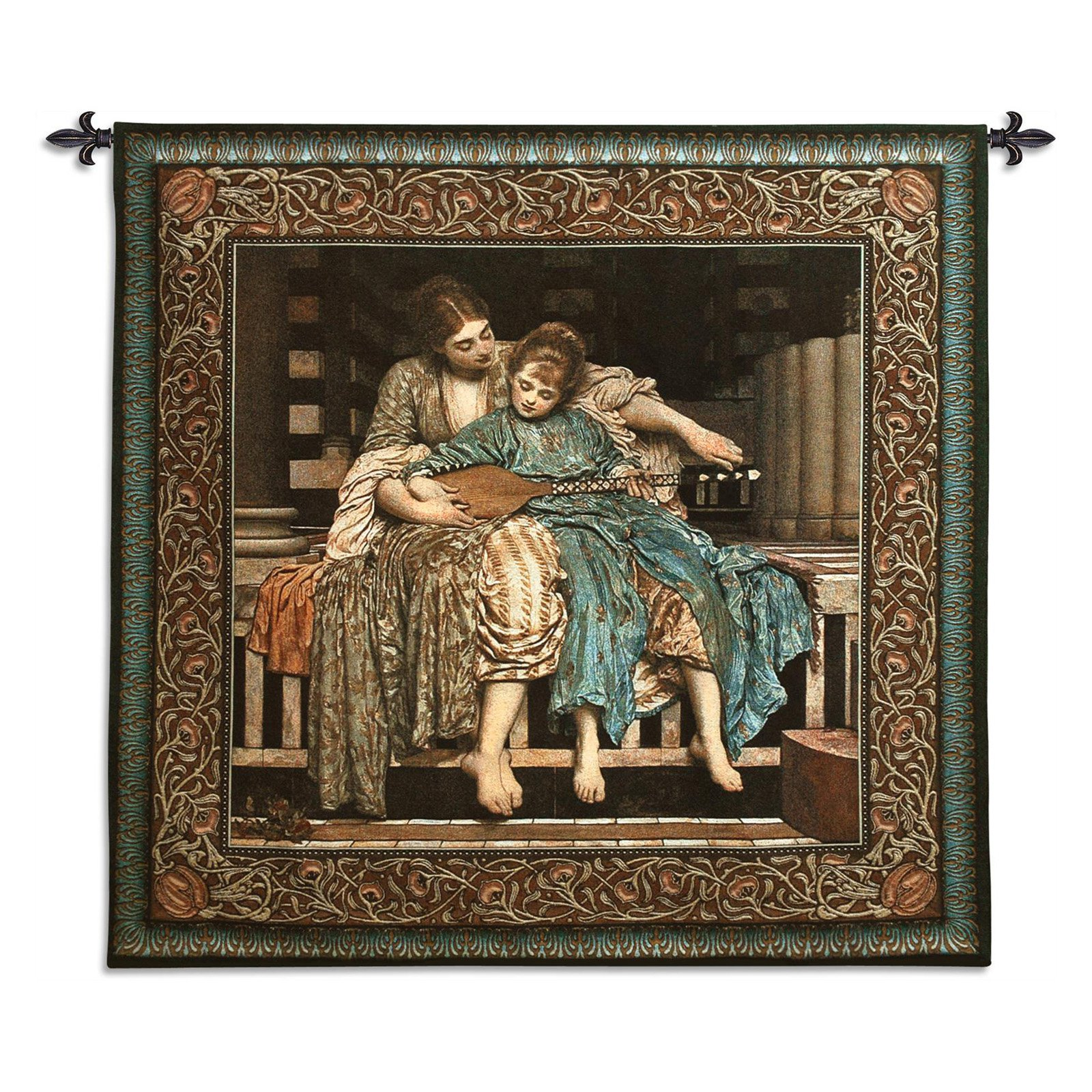 Fine Art Tapestries The Music Lesson Wall Tapestry by Supplier Generic
