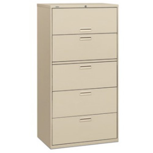 Superieur HON 500 Series 36 Inch Wide Lateral File Cabinet 5 Drawer