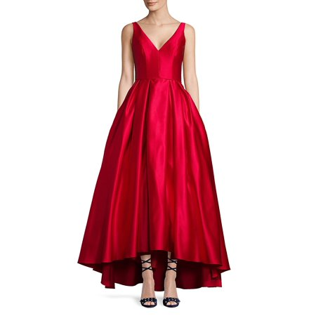 Hi-Lo Satin Gown