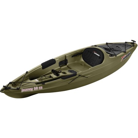 sun dolphin journey 10 39 sit on fishing kayak with paddle