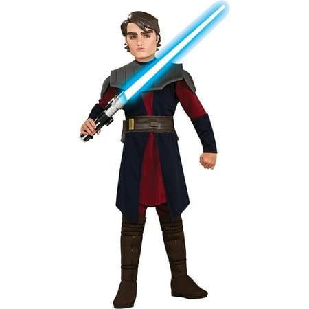Morris costumes RU883195LG Anakin Skywalker Dlx Child Lge (Anakin Skywalker Kid Costume)