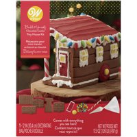 Wilton Build-it-Yourself Chocolate Cookie Tiny House Decorating Kit
