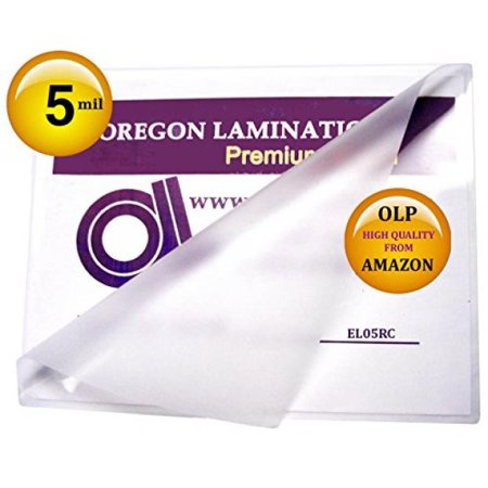 Hot Laminating Pouches (5 Mil Menu Laminating Pouches Qty 100 Hot 12 x 18 Laminator Sleeves)
