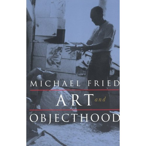 """objecthood essay On """"art and objecthood"""" by michael fried posted michael fried is an art historian and critic best known for his essay, """"art and objecthood."""