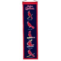 "St. Louis Cardinals 8"" x 32"" Heritage Banner - No Size"