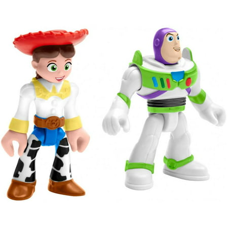 Fisher-Price Imaginext Disney Pixar Toy Story 4 Buzz Lightyear And Jessie