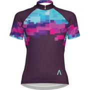 Primal Wear Mache Women's Cycling Jersey: Purple, LG