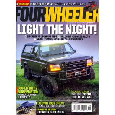 Four Wheeler Magazine September 2016 4X4 Authority + BONUS UTV OFF-ROAD  GUIDE