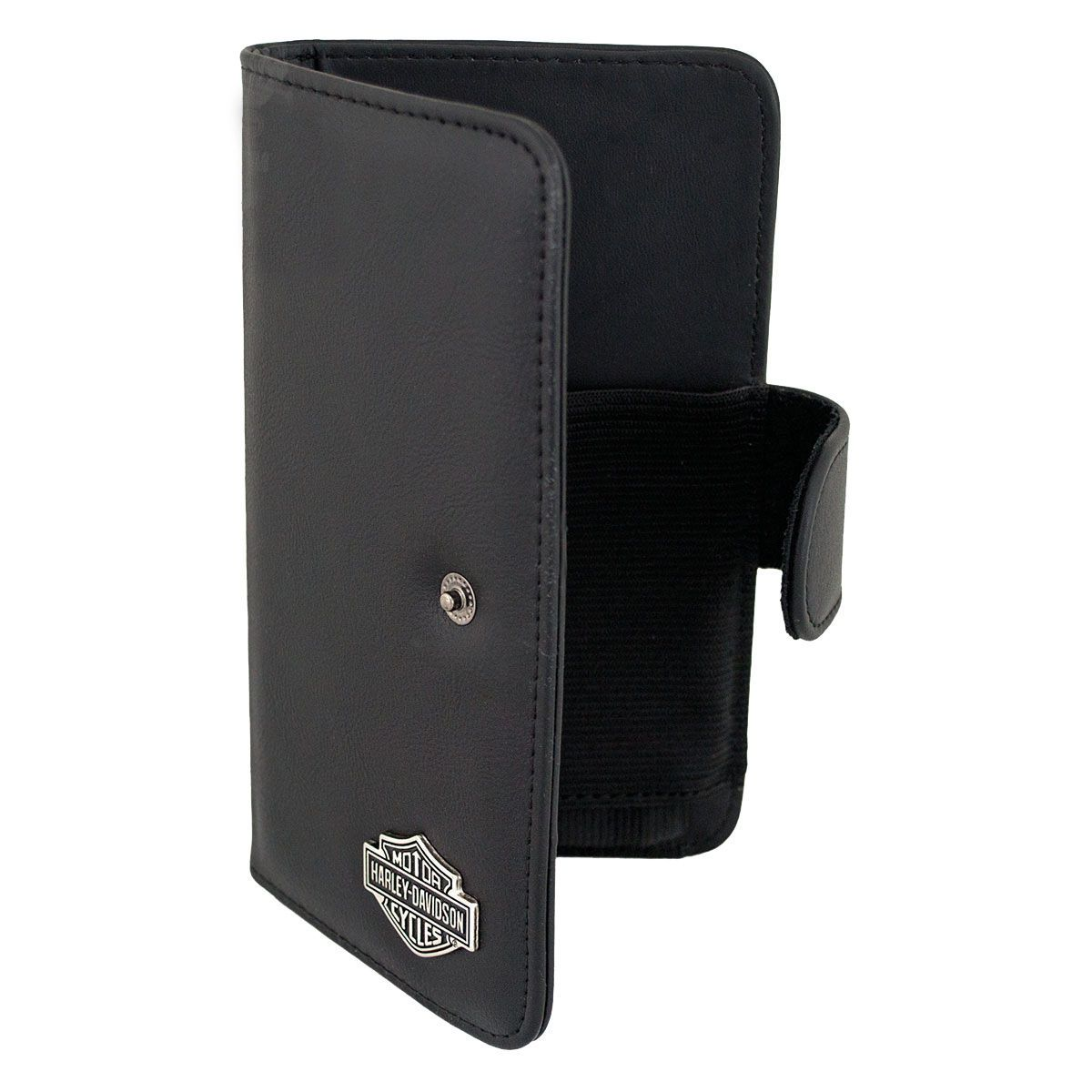 new style 82f38 f6bf7 Harley Davidson Card Holder Wallet Case fits LG K20 and K20 Plus with a  slim cover on it.