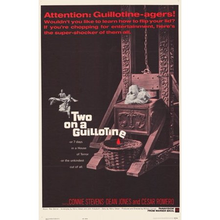 Two on a Guillotine Movie Poster (11 x 17)