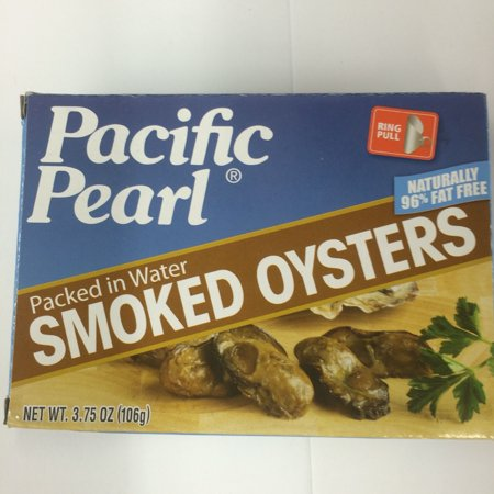 (3 Pack) Chicken of The Sea Smoked Oysters in Water, 3.75 oz