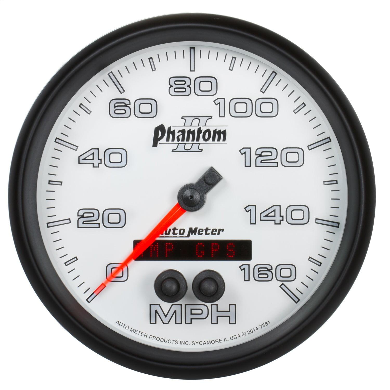 Auto Meter 7581 Phantom II GPS Speedometer