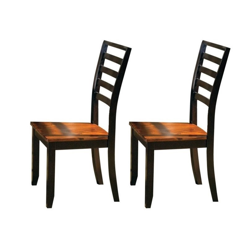 Steve Silver Company Abaco  Dining Chair in Acacia Finish (set of 2)