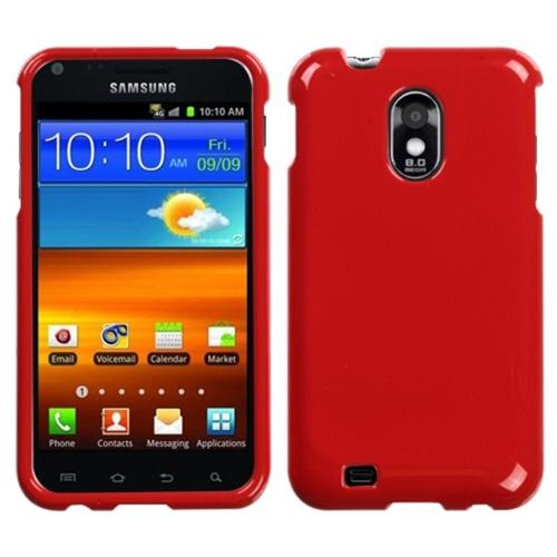 Insten Solid Flaming Red Phone Case for SAMSUNG: D710 (Epic 4G Touch), R760 (Galaxy S II), Galaxy S II 4G