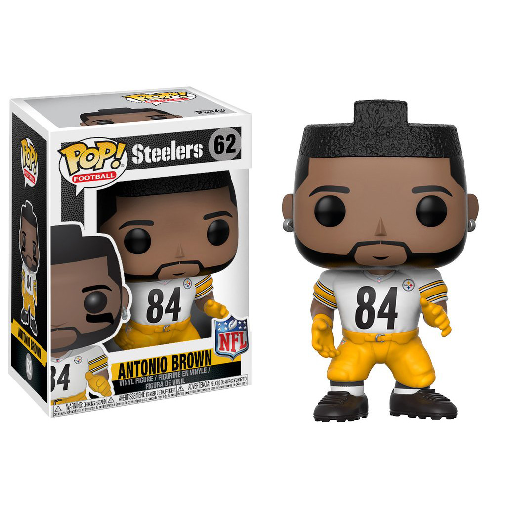 Funko Pop! NFL Wave 4 Antonio Brown Pittsburgh Steelers