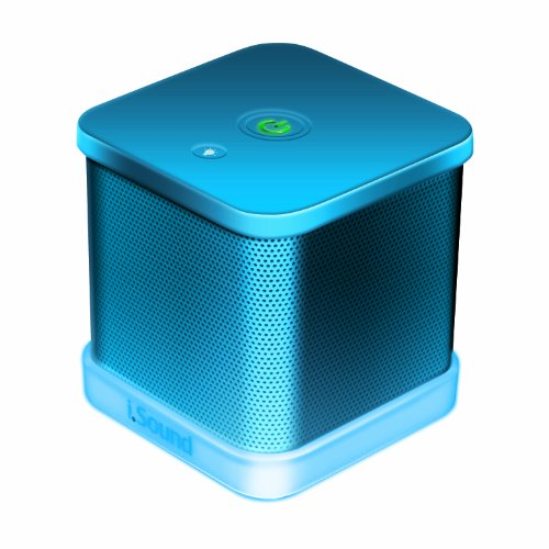 iSound   DRM6206B iSound iGlowSound Cube Wired Speaker