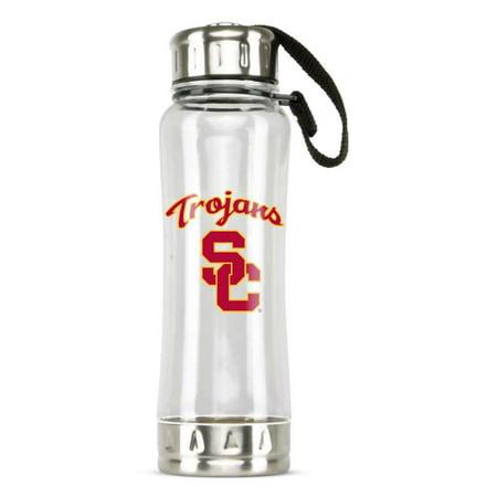 USC Trojans Clip-On Water Bottle - 16 oz