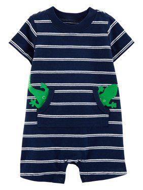 2a94ce312 Baby Boys Rompers   One-pieces - Walmart.com