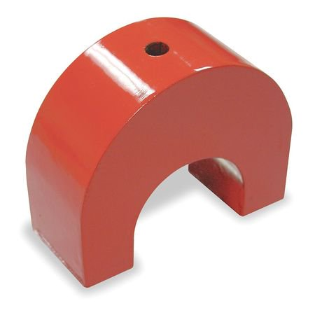 6Xy51 Alnico 5 Horseshoe Magnet  50 Lb  Pull