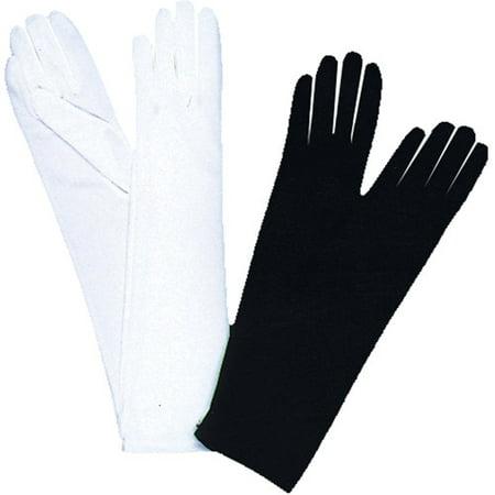 Opera White Adult Gloves Halloween Accessory](Opera Mini Halloween)