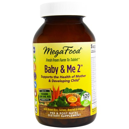 MegaFood, Baby & Me 2, 120 Tablets(pack of 1) ()